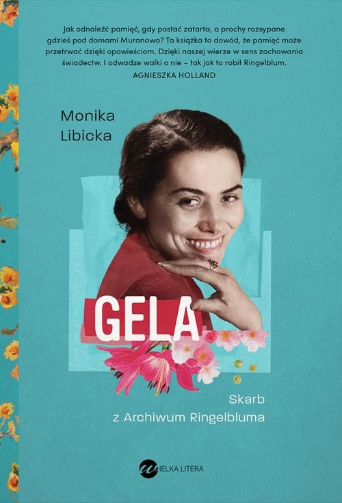 okładka Gela. Skarb z Archiwum Ringelblumaksiążka      Monika Libicka