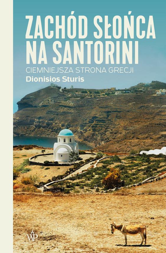 okładka Zachód słońca na Santoriniebook   epub, mobi   Dionisios Sturis