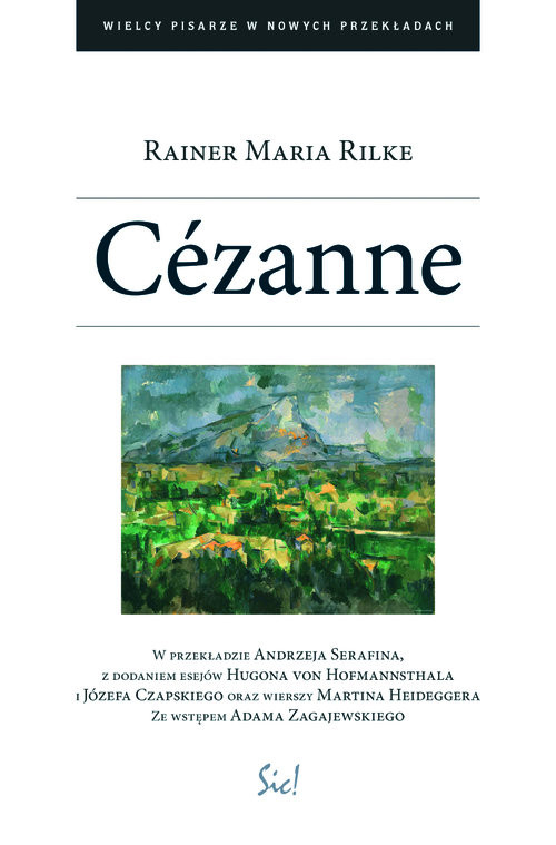 okładka Cezanneksiążka |  | Rainer Maria Rilke
