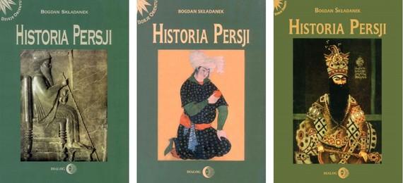 okładka HISTORIA PERSJI - pakiet 3 książekebook | epub, mobi | Bogdan Składanek