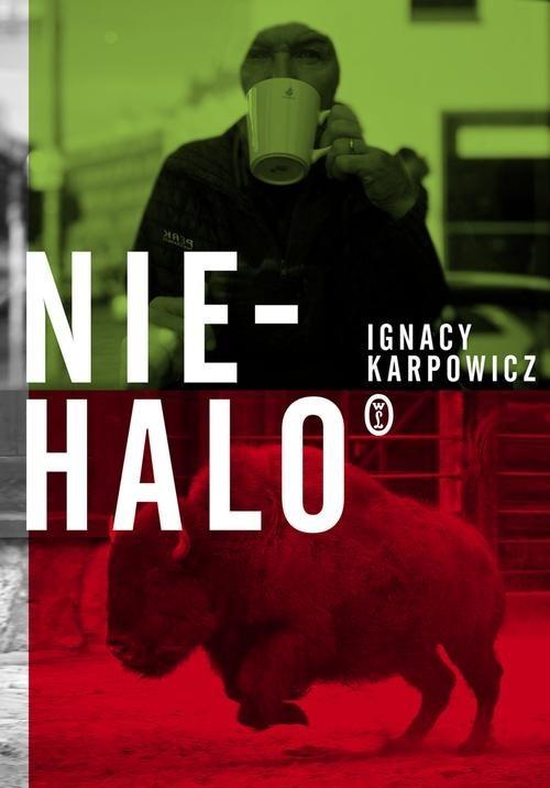 okładka Niehaloksiążka      Ignacy Karpowicz