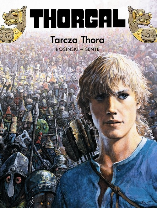 okładka Thorgal Tarcza Thora Tom 31książka |  | Grzegorz Rosiński, Jean Van Hamme