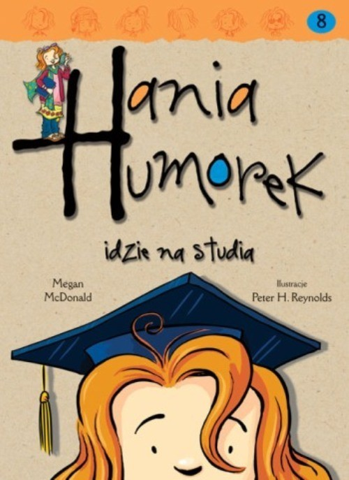okładka Hania Humorek idzie na studiaksiążka |  | Megan McDonald