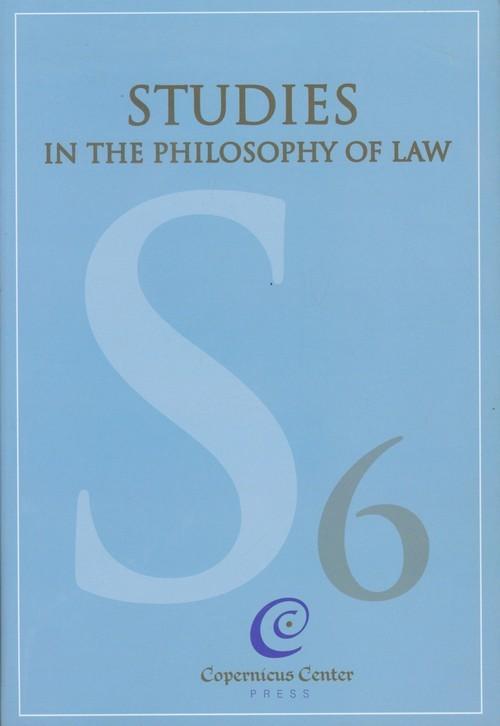 okładka Studies in the Philosophy of Law vol. 6książka      Jerzy Stelmach, Bartosz Brożek