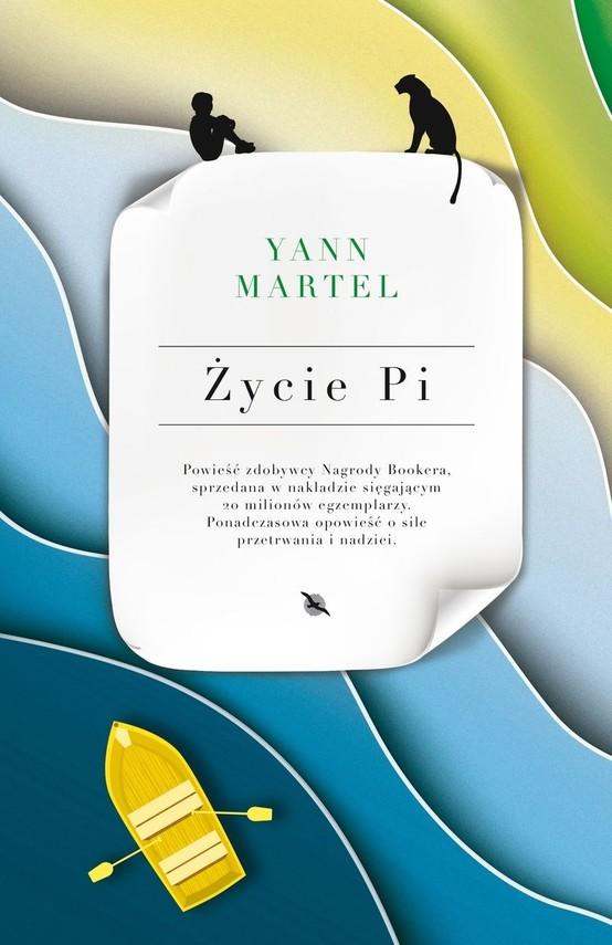 okładka Życie Pi książka      Yann Martel