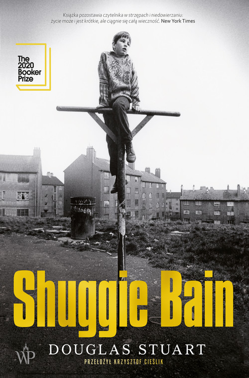 okładka Shuggie Bain książka      Douglas Stuart