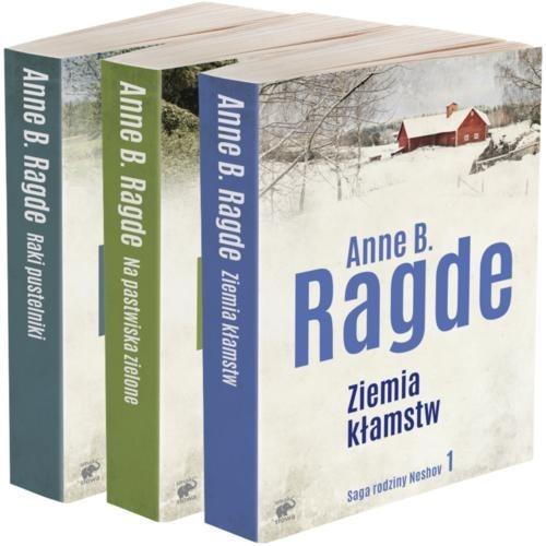 okładka Saga rodziny NeshovTom 1-3książka      Anne B. Ragde