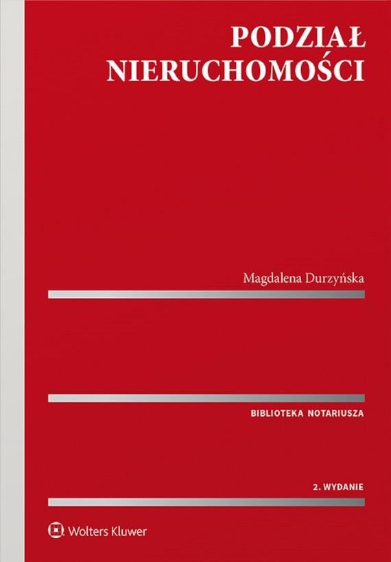 okładka Podział nieruchomościebook | pdf | Magdalena Durzyńska