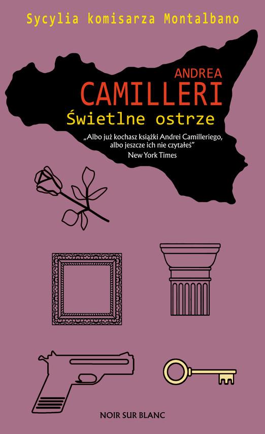 okładka Świetlne ostrzeebook | epub, mobi | Andrea Camilleri
