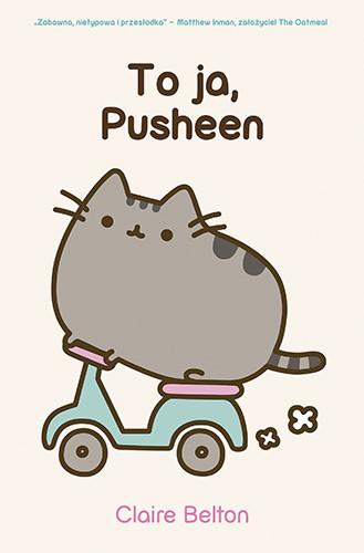 okładka To ja, Pusheen książka      Claire Belton