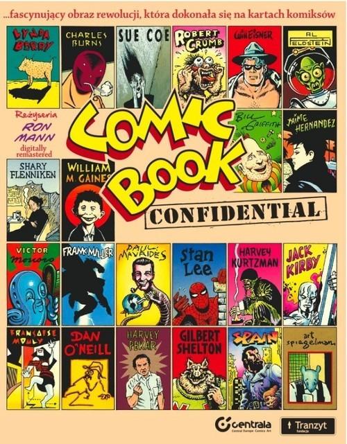okładka Comic Book Confidentialksiążka |  |