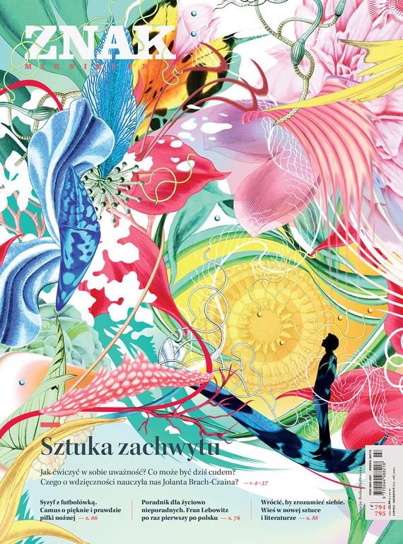 okładka Miesięcznik ZNAK nr 794-795 Sztuka zachwytuebook | epub, mobi | Opracowania Zbiorowe