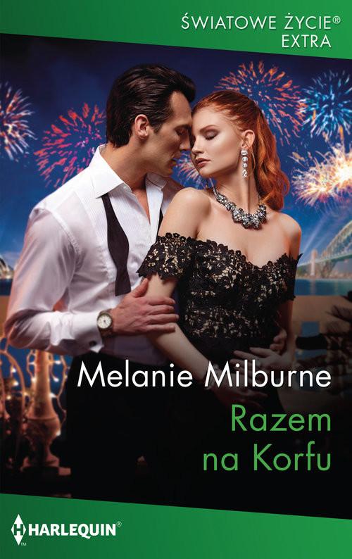 okładka Razem na Korfuksiążka      Melanie Milburne