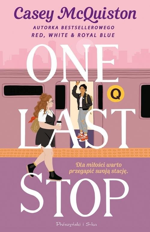okładka One Last Stopksiążka |  | Casey McQuiston