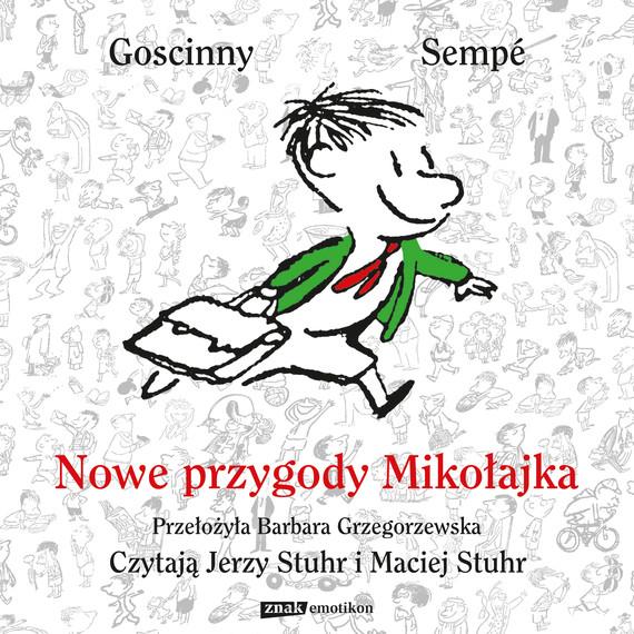okładka Nowe przygody Mikołajkaaudiobook   MP3   René Goscinny, Jean-Jacques Sempé