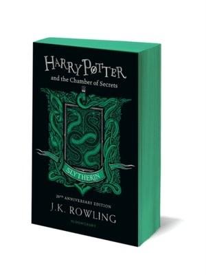 okładka Harry Potter and the Chamber of Secrets. Slytherin Edition książka      K. Rowling J.