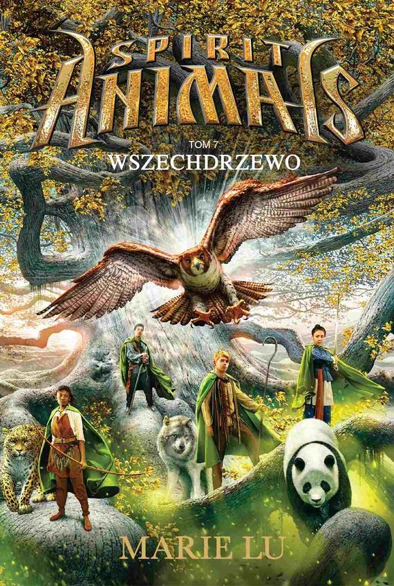 okładka Spirit Animals. Tom VII. Wszechdrzewoebook | epub, mobi | Marie Lu