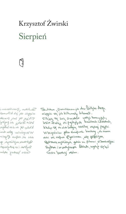okładka Sierpieńksiążka      Żwirski Krzysztof