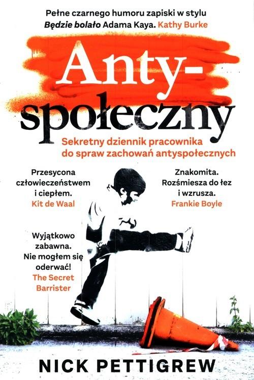 okładka Antyspołecznyksiążka      Pettigrew Nick