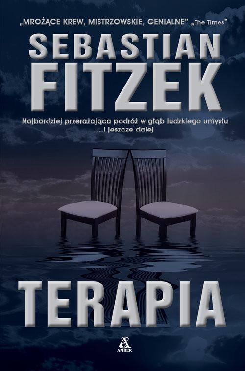 okładka Terapia Wielkie Literyksiążka      Sebastian Fitzek