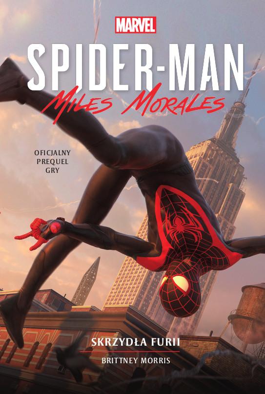 okładka Spider-Man: Miles Morales. Skrzydła furiiebook   epub, mobi   Brittney Morris