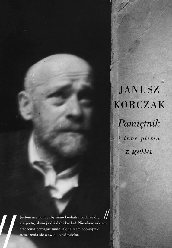 okładka Pamiętnik i inne pisma z gettaebook   epub, mobi   Janusz Korczak
