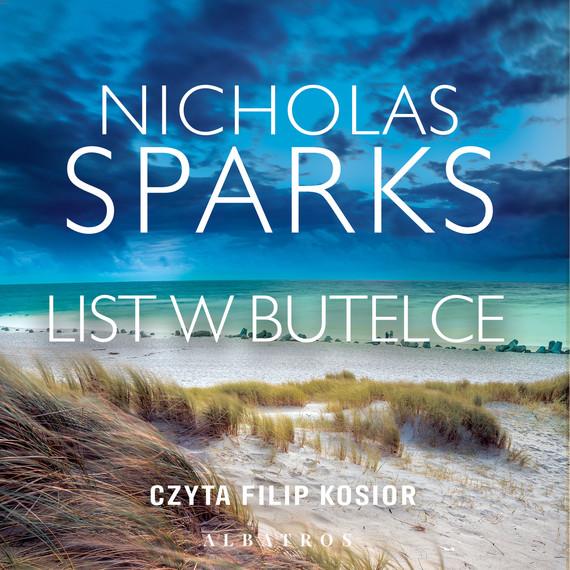 okładka List w butelceaudiobook | MP3 | Nicholas Sparks