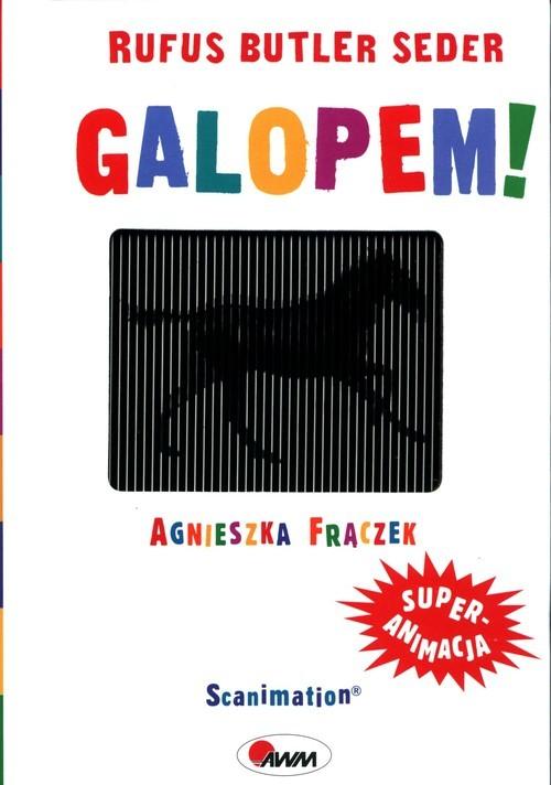 okładka Galopem!książka |  | Agnieszka Frączek