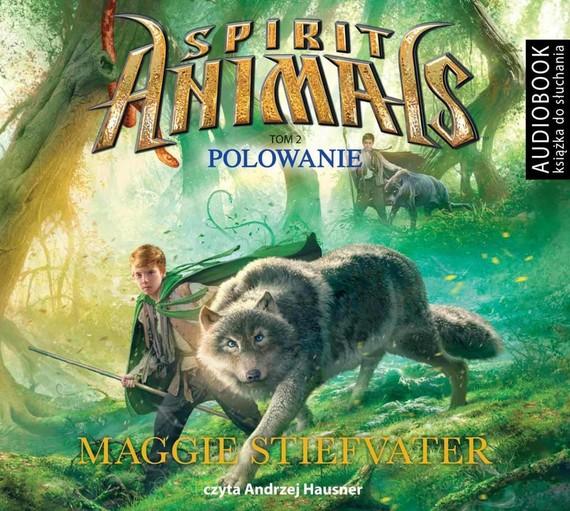 okładka Spirit Animals. Tom 2. Polowanieaudiobook | MP3 | Maggie Stiefvater