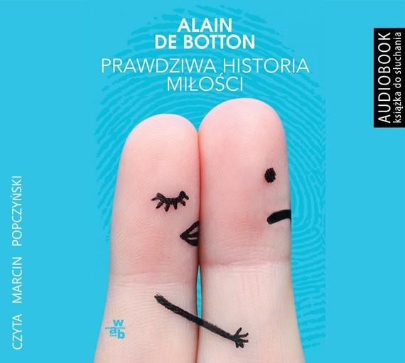 okładka Prawdziwa historia miłościaudiobook   MP3   Alain De Botton