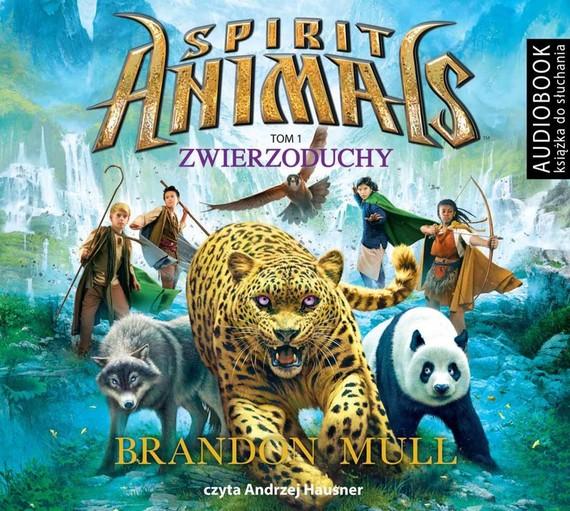 okładka Spirit Animals. Tom 1. Zwierzoduchyaudiobook   MP3   Brandon Mull