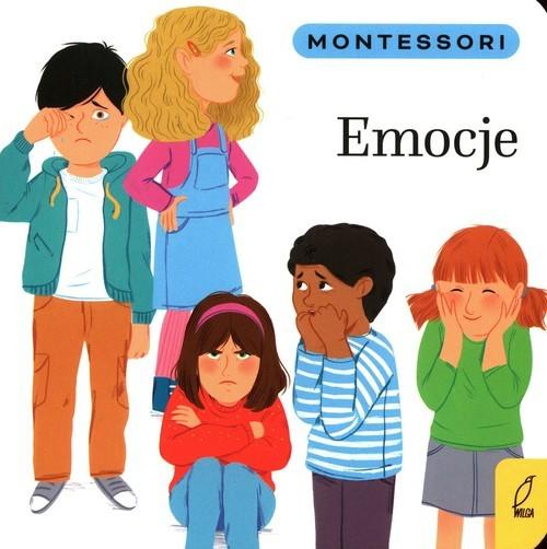 okładka Montessori Emocjeksiążka      Marzena Kunicka-Porwisz