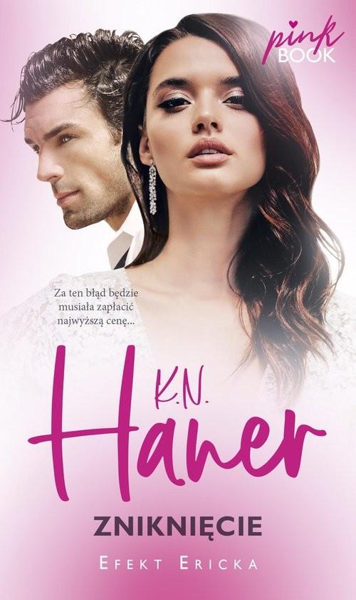 okładka Zniknięcie seria Pink Bookksiążka      K.N. Haner