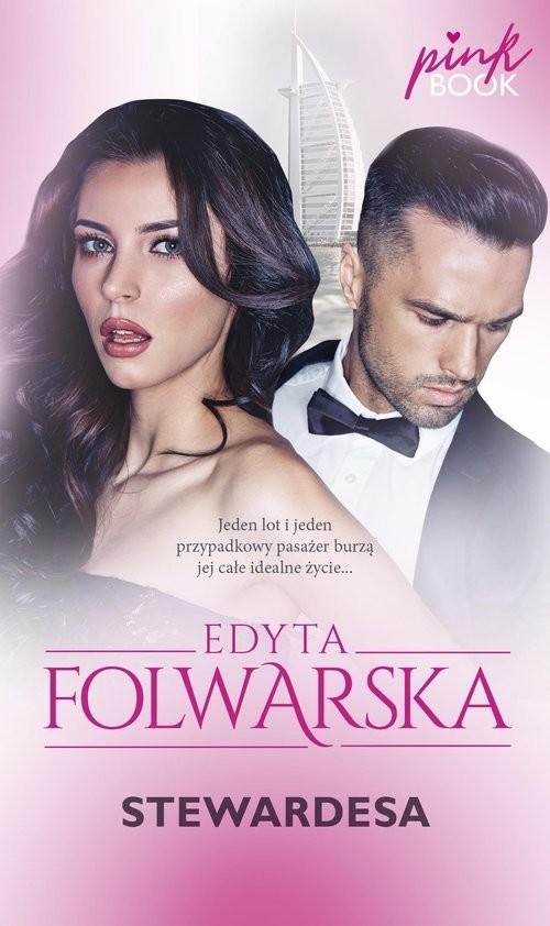 okładka Stewardesa seria Pink Bookksiążka      Edyta Folwarska