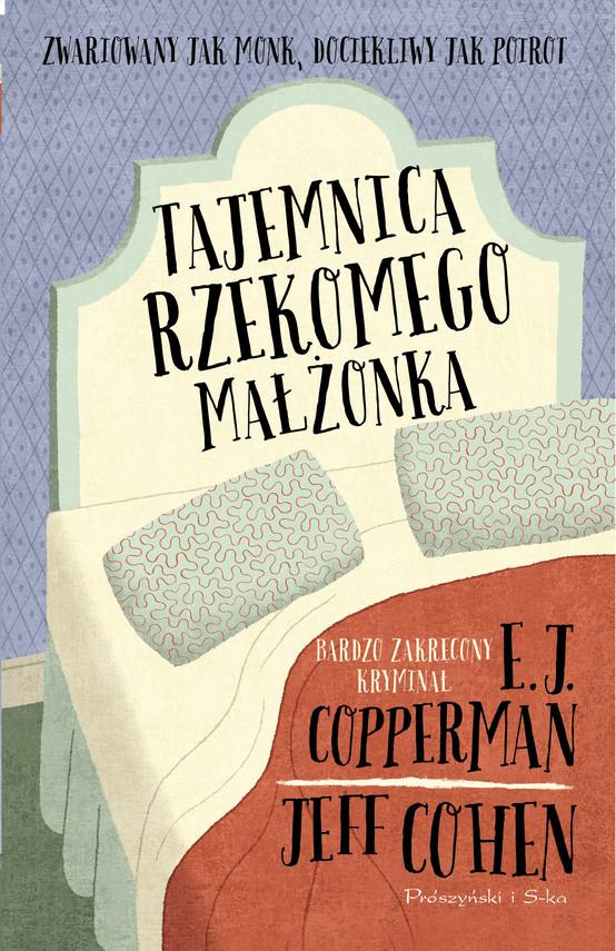 okładka Tajemnica rzekomego małżonkaebook   epub, mobi   E.J Copperman, Jeff Cohen