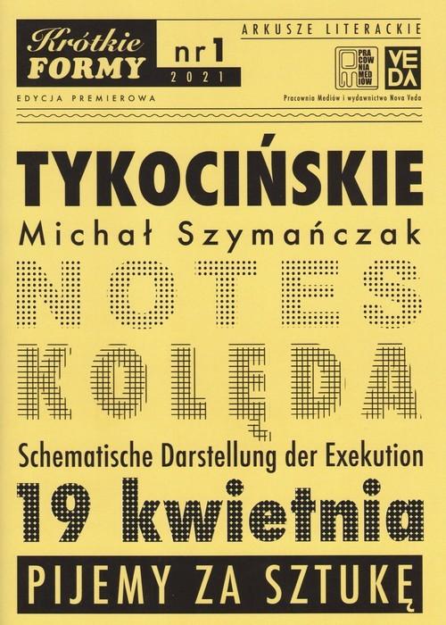 okładka Tykocińskie Krótkie Formy 1książka      Szymańczak Michał