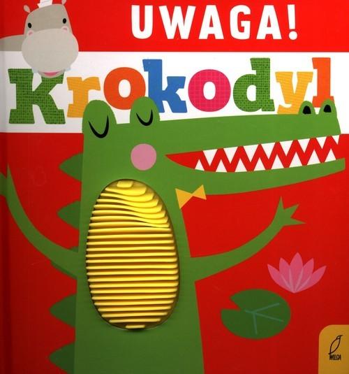 okładka Uwaga krokodylksiążka |  | Anna Paszkiewicz