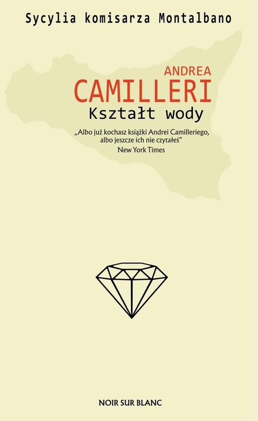 okładka Kształt wody książka      Andrea Camilleri