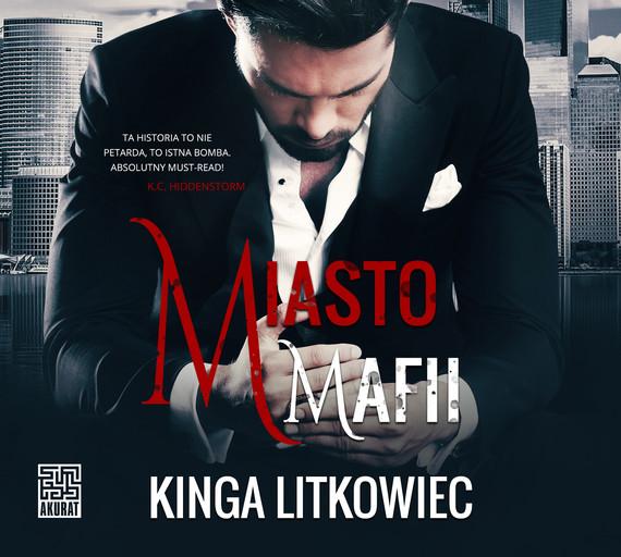 okładka Miasto mafiiaudiobook | MP3 | Kinga Litkowiec
