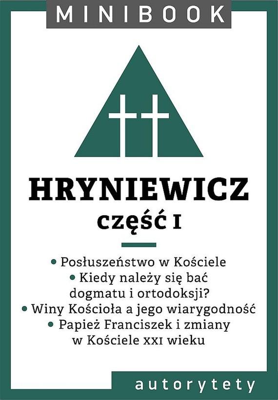okładka Hryniewicz [teolog]. Minibookebook   epub, mobi   Wacław Hryniewicz OMI