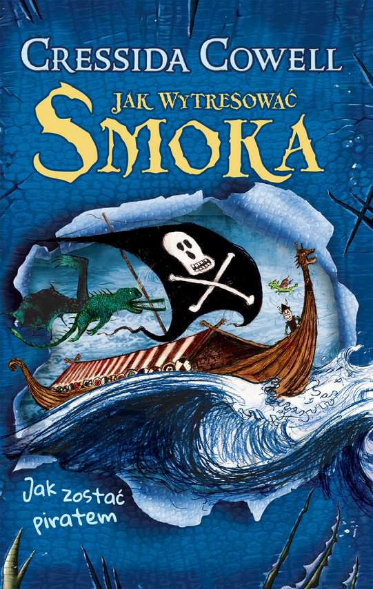 okładka Jak zostać piratemebook | epub, mobi | Cressida Cowell