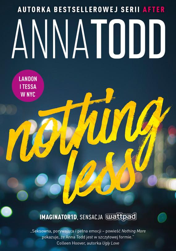 okładka Nothing Lessebook | epub, mobi | Anna Todd