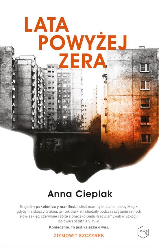 okładka Lata powyżej zeraebook | epub, mobi | Anna Cieplak