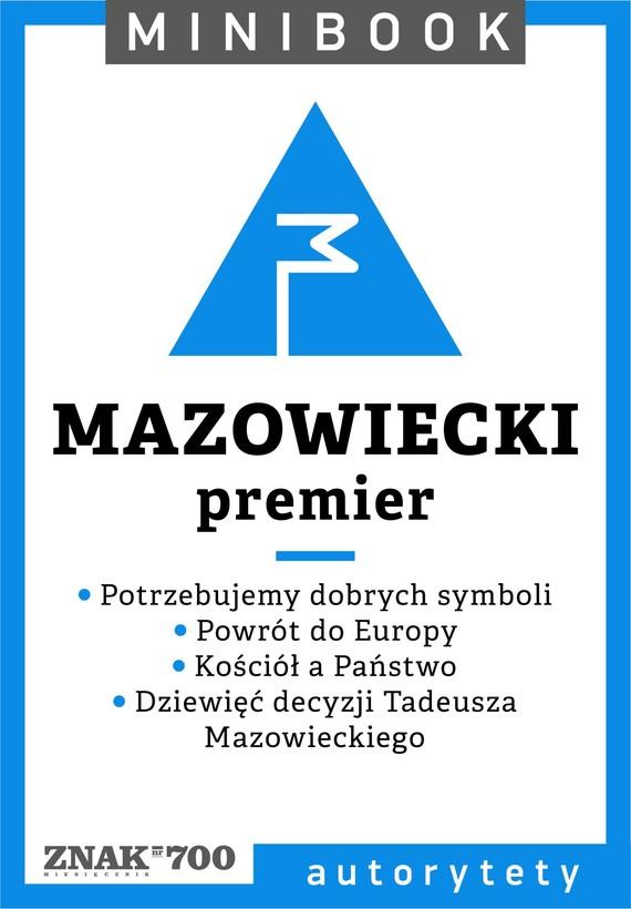 okładka Mazowiecki [premier]. Minibookebook | epub, mobi | Opracowania Zbiorowe