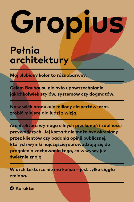 okładka Pełnia architekturyebook   epub, mobi   Gropius Walter