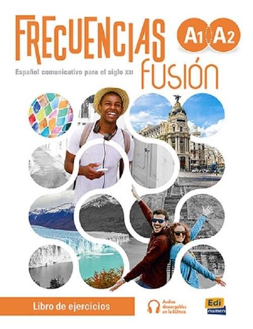 okładka Frecuencias fusion A1+A2 Zeszyt ćwiczeń do nauki języka hiszpańskiego + zawartość onlineksiążka |  | Francisca Fernández, Emilio MarínyFranciscoRivas