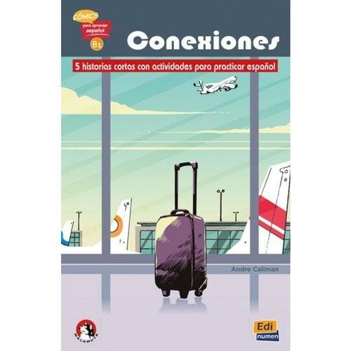 okładka Conexiones B1 literatura hiszpańska - komiksksiążka |  | Andre Caliman