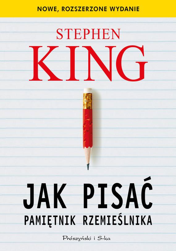 okładka Jak pisać. Pamiętnik rzemieślnikaebook   epub, mobi   Stephen King