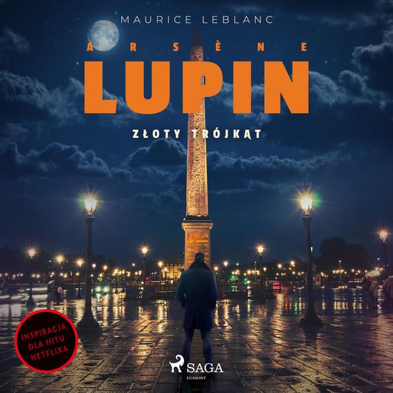 okładka Arsène Lupin. Złoty trójkątaudiobook   MP3   Maurice Leblanc