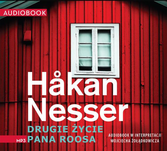 okładka Drugie życie Pana Roosaaudiobook   MP3   Håkan Nesser
